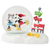 Mickey and Minnie Snowglobe