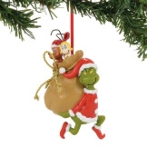 Grinch Santy Clause Stowaways Ornament