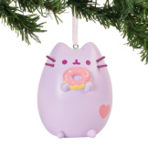 Pastel Purple Pusheen Ornament