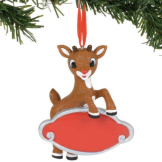 Rudolph Personalizable Ornament
