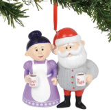 Mr. Right & Mrs. Always Right Ornament