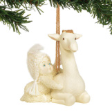 Peaceful Kingdom Giraffe Ornament