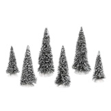 Snow Covered Pines - Set of 6