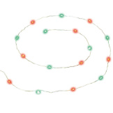 String Of 16 Red & Green Lights