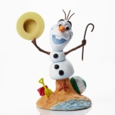 Olaf with Cane & Hat