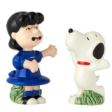 Snoopy & Lucy Salt & Pepper