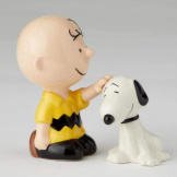 Charlie Brown Pets Snoopy Salt & Pepper