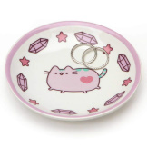 Pusheen Ring Dish Purple