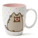 Pusheen Mug with Donut 12 oz