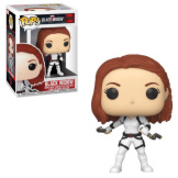 Black Widow White Suit Pop Bobble-Head