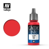 Vallejo Game Color Red Ink 17ml