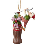 Elf Coke Bottle Ornament