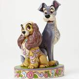 Lady & the Tramp 60th Anniversary Figure