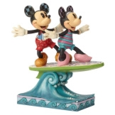 Minnie & Mickey Surfboard