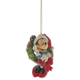 Minnie Mouse with Wreath Ornament