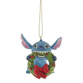 Stitch with Wreath Ornament