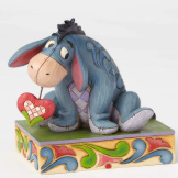 Eeyore Heart on a String