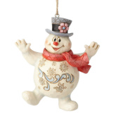Jolly Frosty Ornament
