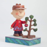 Charlie Brown with Pathetic Tree