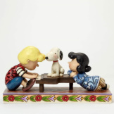 Schroeder with Lucy & Snoopy Figure