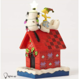 Snoopy Dog House Lighted Star