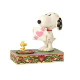 Work of Heart - Snoopy with Woodstock