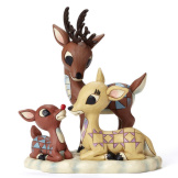 Rudolph with Mom & Dad