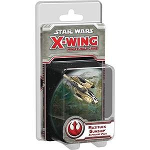Star Wars X-Wing Miniatures Auzituck Gunship