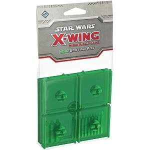 Star Wars X-Wing Miniatures Bases & Pegs Green