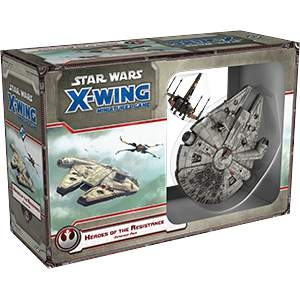 Star Wars X-Wing Miniatures Heroes Of The Resistance