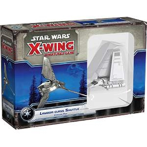 Star Wars X-Wing Miniatures Lambda Class Shuttle