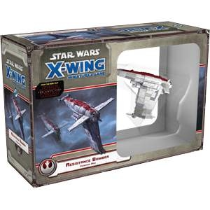 Star Wars X-Wing Miniatures Resistance Bomber