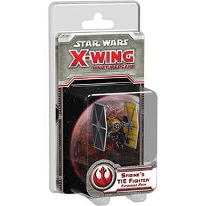 Star Wars X-Wing Miniatures Sabine's Tie Fighter