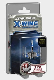 Star Wars X-Wing Miniatures T-70 X-Wing
