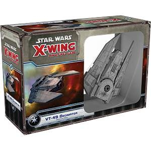 Star Wars X-Wing Miniatures Decimator VT-49