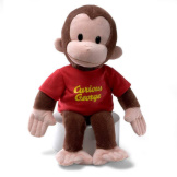 Curious George Red Shirt 12