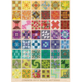 Common Quilt Blocks 1000 pieces