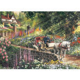 Carriage Ride 275 piece puzzle