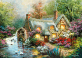 Country Retreat 1500 Piece Puzzle