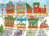 Christmas Train 350 piece family puzzle