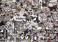 Black & White: Animals 1000 piece puzzle