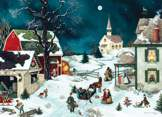 Moonlit Winter 500 piece puzzle