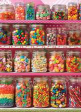 Candy Shelf 500 piece puzzle