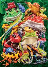 Frog Business 1000 piece puzzle