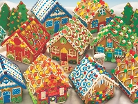 Gingerbread Houses 400 piece puzzle