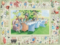 Alices Adventures in Wonderland 400 Piece puzzle