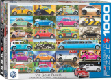 VW Beetle Gone Places 1000 Pieces
