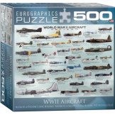 WWII Aircraft 500 pieces