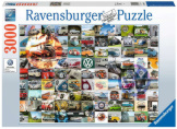 99 VW Campervan Moments 3000 Pieces