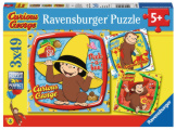 Curious George & Friends- 3 x 49 Pieces